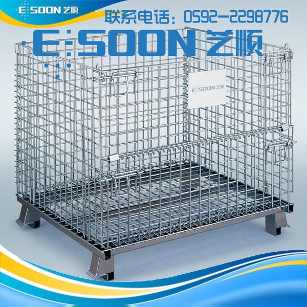 折叠式仓库笼/批发 仓库笼材质选择 优质竞博JBO生产厂家